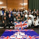 Girlguiding Middlesex North West celebrating Harry and Megan's wedding